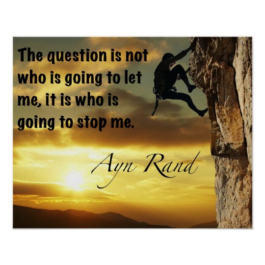 Who is going to stop me. poster