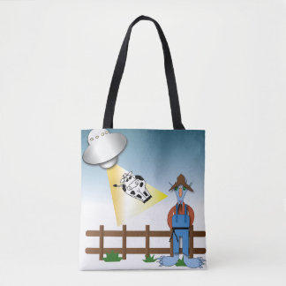 Who is the Alien? Tote Bag