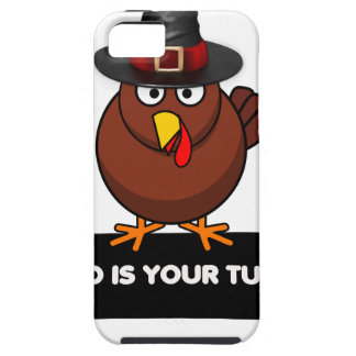 who is your turkey, Thanksgiving gift design shirt Case For The iPhone 5