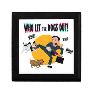 Who let the dogs out! gift box