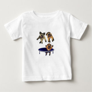 who let the pugs out baby T-Shirt