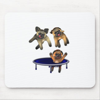 who let the pugs out mouse pad