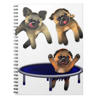 who let the pugs out notebooks