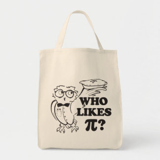 Who Likes Pi?  tote bag