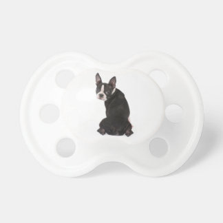 Who Me Boston Terrier Pacifier
