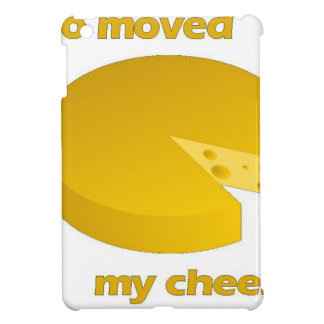 Who moved the cheese cover for the iPad mini