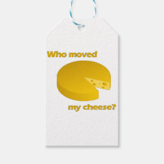 Who moved the cheese gift tags