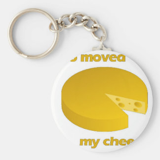 Who moved the cheese keychain