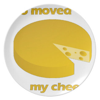 Who moved the cheese plate