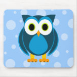 Who? Mr. Owl Cartoon Mouse Pads