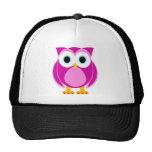 Who? Mrs. Owl Cartoon Trucker Hats