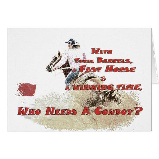 who needs a cowboy card