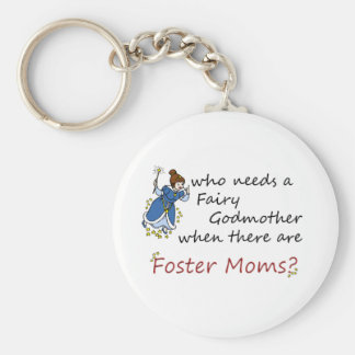 Who needs a Fairy Godmother? Basic Round Button Keychain