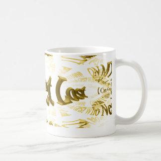 Who Needs GPS MAP FRACTAL TRACE Coffee Mug