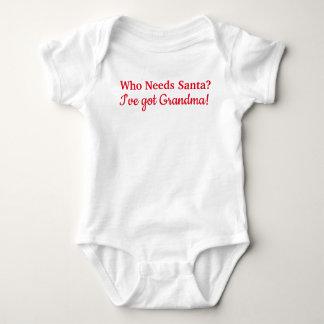 Who Needs Santa? I've got Grandma! Baby Bodysuit