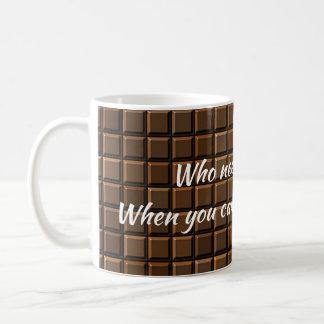 Who Needs Therapy Coffee Mug