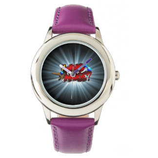 Who Nose? Stainless Steel Watch (Female)
