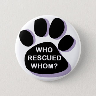 who rescued whom? button