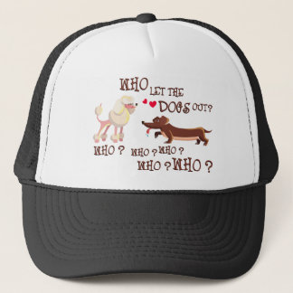 who the let dogs out trucker hat