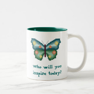 Who will you inspire today? Butterfly Mug