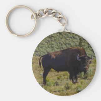 Who You Looking At Keychain
