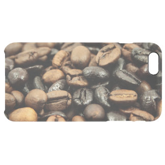 Whole Bean Coffee Clear iPhone 6 Plus Case