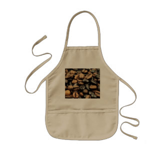 Whole Bean Coffee Kids Apron