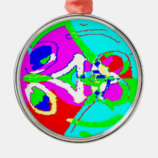 Whole Bunch 11 Silver-Colored Round Ornament