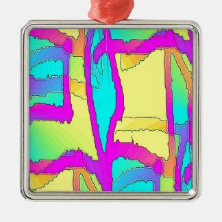 Whole Bunch 38 Silver-Colored Square Ornament