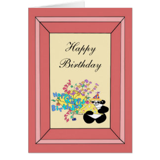 Whole bunch of happy birthday wishes card