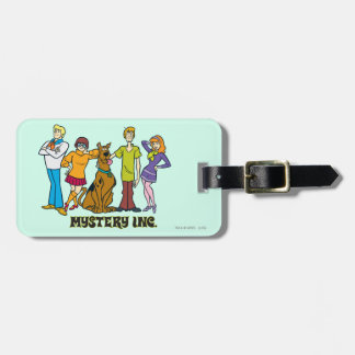Whole Gang 12 Mystery Inc Luggage Tag
