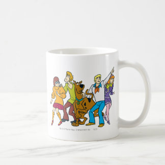 Whole Gang 13 Mystery Inc Coffee Mug