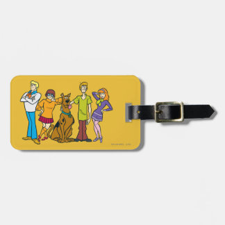 Whole Gang 14 Mystery Inc Luggage Tag