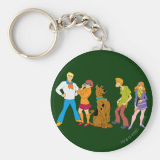 Whole Gang 15 Mystery Inc Keychain