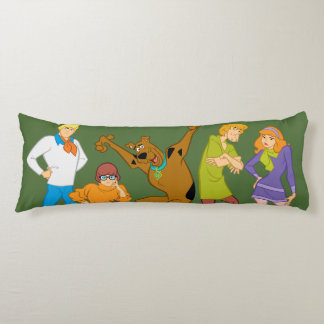 Whole Gang 16 Mystery Inc Body Pillow