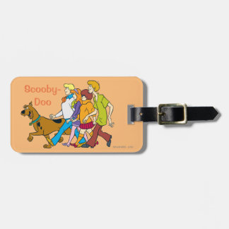 Whole Gang 18 Mystery Inc Luggage Tag