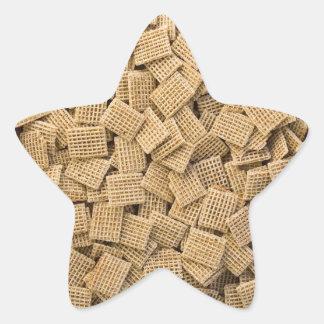 Whole grain cereals star sticker
