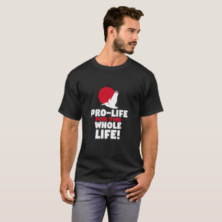 Whole Life Logo Red T-Shirt