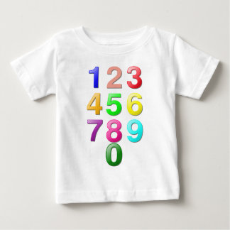 Whole Numbers or Counting Numbers Plus Zero Baby T-Shirt