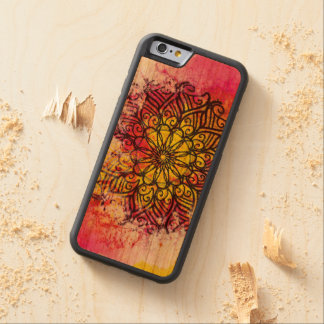 Wholeness Mandala Carved Cherry iPhone 6 Bumper Case