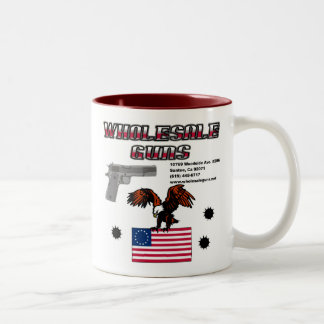WholeSale Guns Two-Tone Coffee Mug