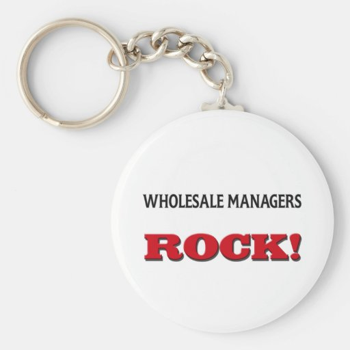 Wholesale Managers Rock Key Chain