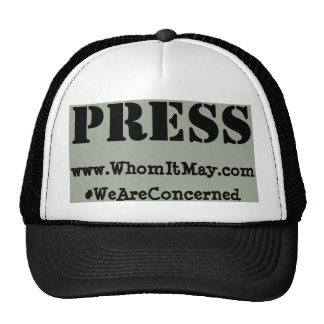 WhomItMay.com - PRESS Hat