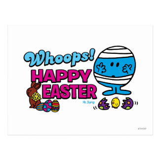 Whoops! Happy Easter Postcard