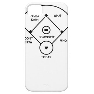 who's on first What's on second I don't know is... iPhone 5 Cover