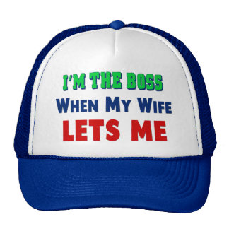 Who's The Boss Trucker Hat