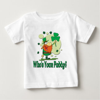 Who's Your Paddy Funny Leprechaun Baby T-Shirt