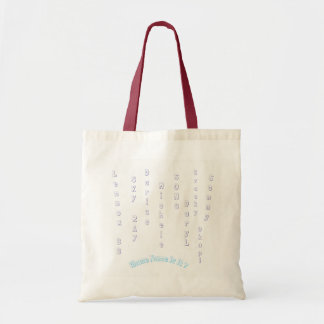 Whose Name Is It? Budget Tote with unisex names,