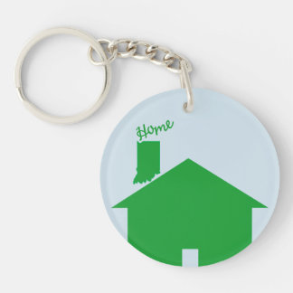 Whose Yer Home? Keychain