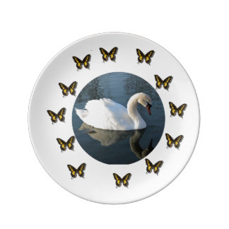 Whte Swan Plate